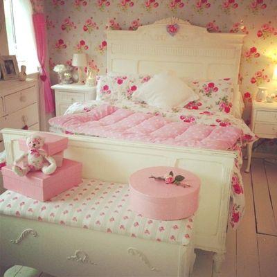 papeis de parede para quarto feminino com estampas florais