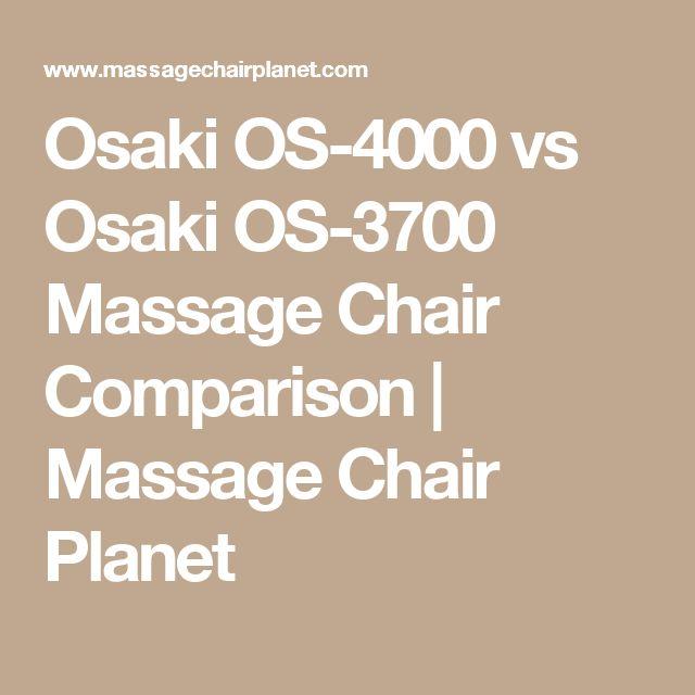osaki os4000 vs osaki os3700 massage chair comparison massage chair planet - Osaki Os4000