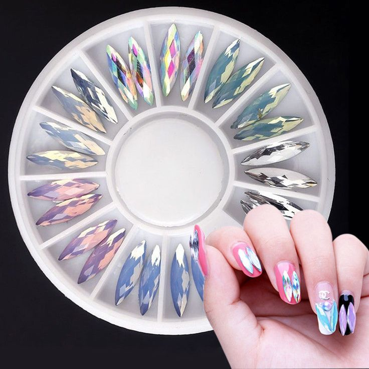 3D Glitter Charms Crystal Rhinestone Nail Art Acrylic  Tips DIY Decoration Wheel | Health & Beauty, Nail Care, Manicure & Pedicure, Nail Art Accessories | eBay!