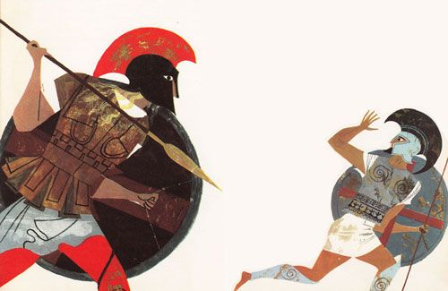 Homer for Young Readers: The Provensens' Vibrant Vintage Illustrations for the Iliad & Odyssey   Brain Pickings