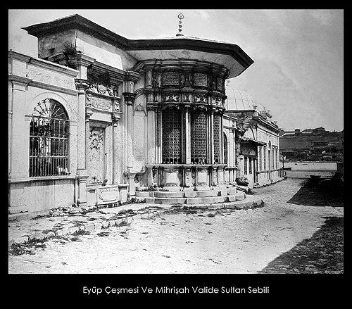 İstanbul-Yıldız Albümleri, Eyüp Çeşmesi ve Mihrişah Valide Sultan Sebili
