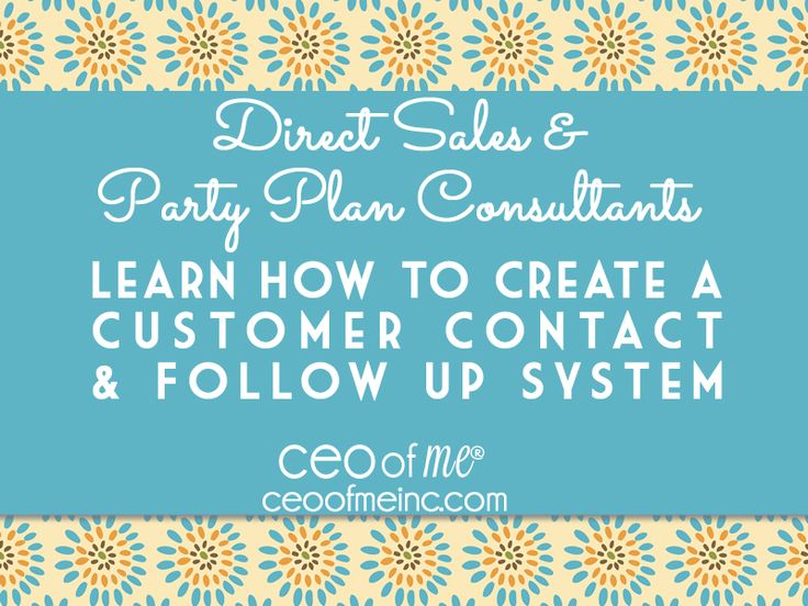 162 best Direct Sales and Party Plan Training, Tips and Resources - follow sales
