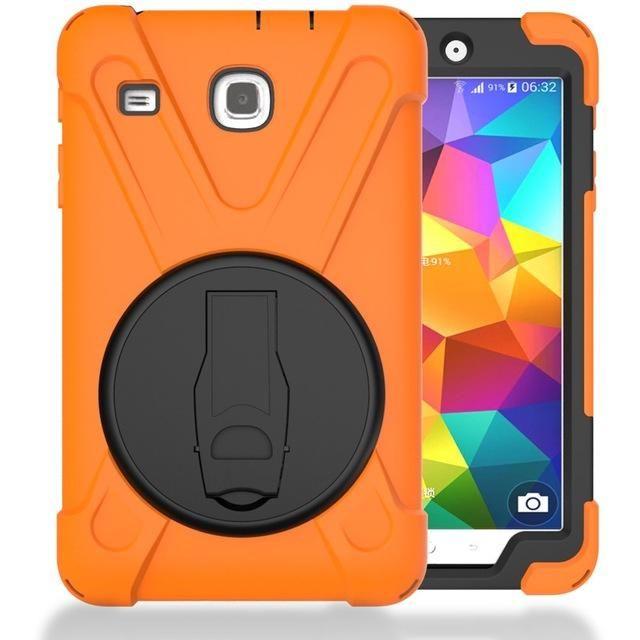 Stent Armor Kickstand Case Cover For Samsung Galaxy Tab E 8.0 Case Silicone Cover For Samsung Galaxy Tab E T377 T377V