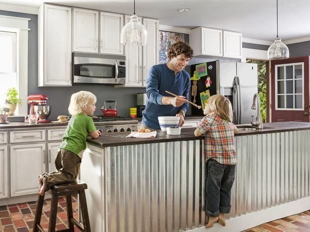 Major kitchen remodel on average: $50,000  This kitchen remodel: $3,100 See how they did it! #hgtvmagazine http://www.hgtv.com/kitchens/remodel-your-kitchen-for-3100/page-2.html?soc=pinterest