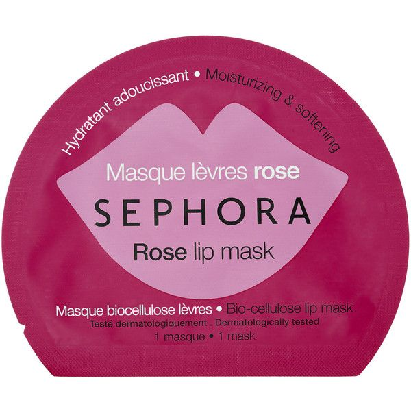 SEPHORA COLLECTION Lip Mask ($3) ❤ liked on Polyvore featuring beauty products, skincare, lip care, lip treatments, moisturizing mask, sephora collection and hydrating mask