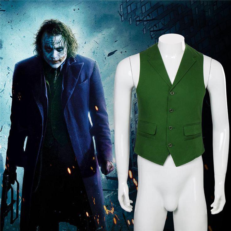 Takerlama New Batman Dark Knight Rise Joker Costume Vest Cosplay Pocket Uniform Vest Halloween Movie Cosplay Costume #Affiliate
