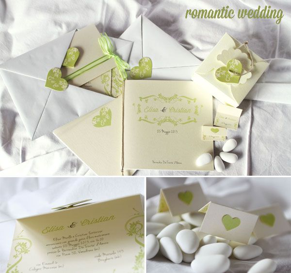 romantic wedding stationery by intodesign.org