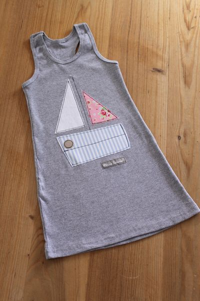 Kleider - Sommerkleid 'Segelboot' limitierte Sommeredition!! - ein Designerstück von milla-louise bei DaWanda