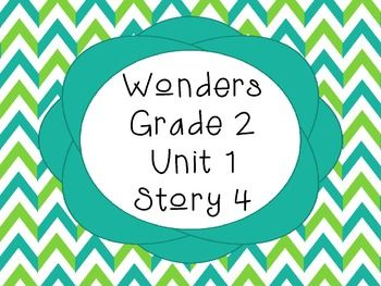 McGraw Hill Wonders 2nd Grade Lola and Tiva {Vocab and Spe