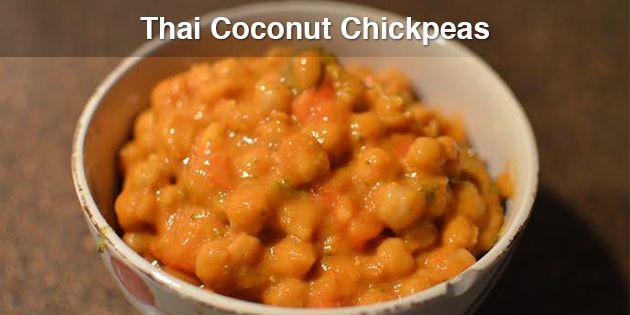 Thai Coconut Chickpeas