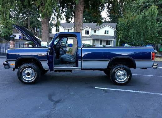 1992 Dodge 2500 Standard Cab (Florence) $1500: 1992 Dodge 2500 Standard Cab w350 4 WD Cummins Turbo Diesel- PW, PD, PS, CD Player,…