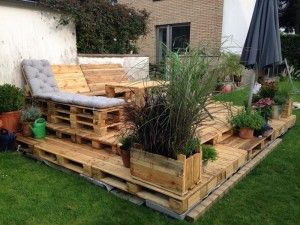 ᐅᐅ Terrasse Aus Paletten Selber Bauen ᐅ Europaletten Diy Anleitung