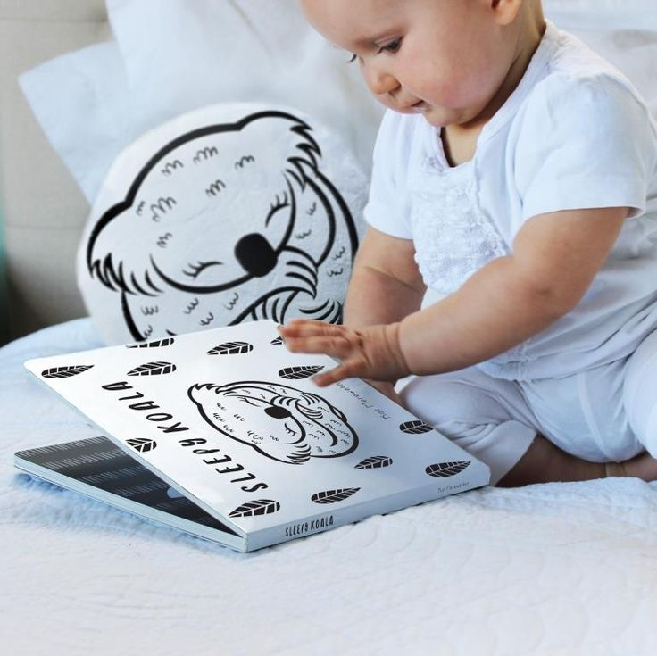 Time for Bed with Little Kiwi and Little Koala, Sleepy books are designed to engage babies right from birth, with bold black and white graphics that babies can actually see. They are durable, matte laminated board books with a wipe clean surface. http://buff.ly/2qyAqDG?utm_content=buffer1ed97&utm_medium=social&utm_source=pinterest.com&utm_campaign=buffer
