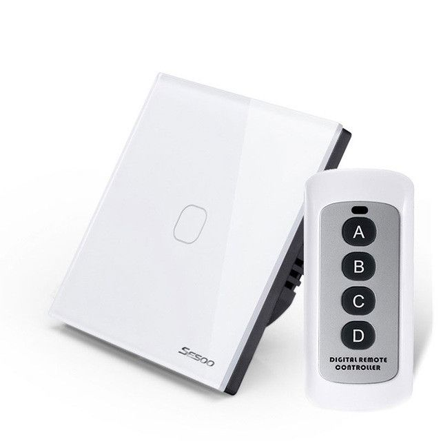 EU Wireless 1 2 3 Gang Wifi Light Switch,Smart Home Automation ...