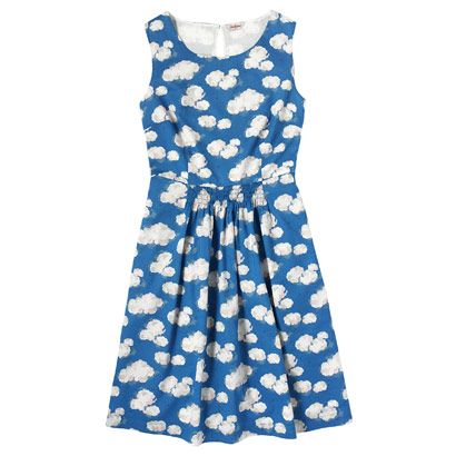 Clouds Cotton Dress with Shirred Waist - Cath Kidston | WANT!!!