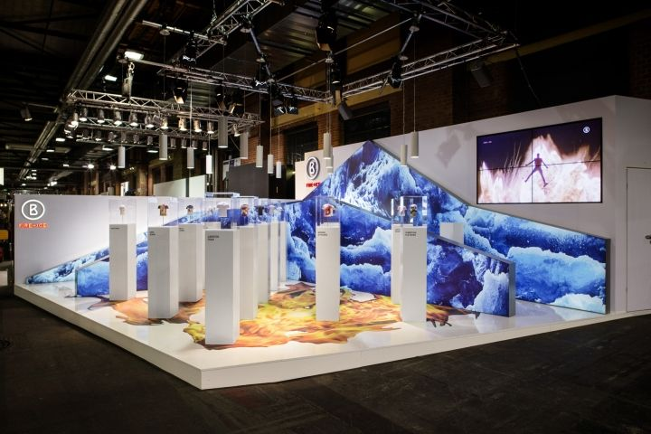 Exhibition Stand Installation : Bogner d miniature models installation by kemmler
