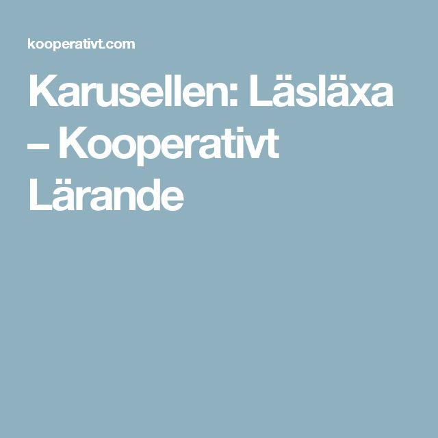 Karusellen: Läsläxa – Kooperativt Lärande