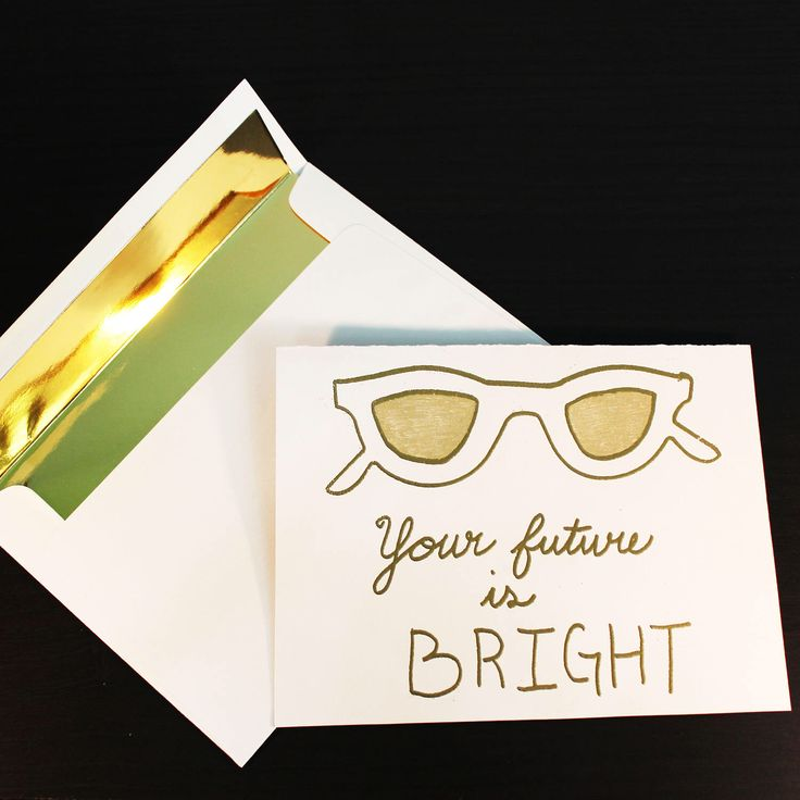 Graduation / Retirement Congratulations Greeting Card- Gold Embossed Handmade by BuchananPapercrafts on Etsy https://www.etsy.com/listing/508088160/graduation-retirement-congratulations