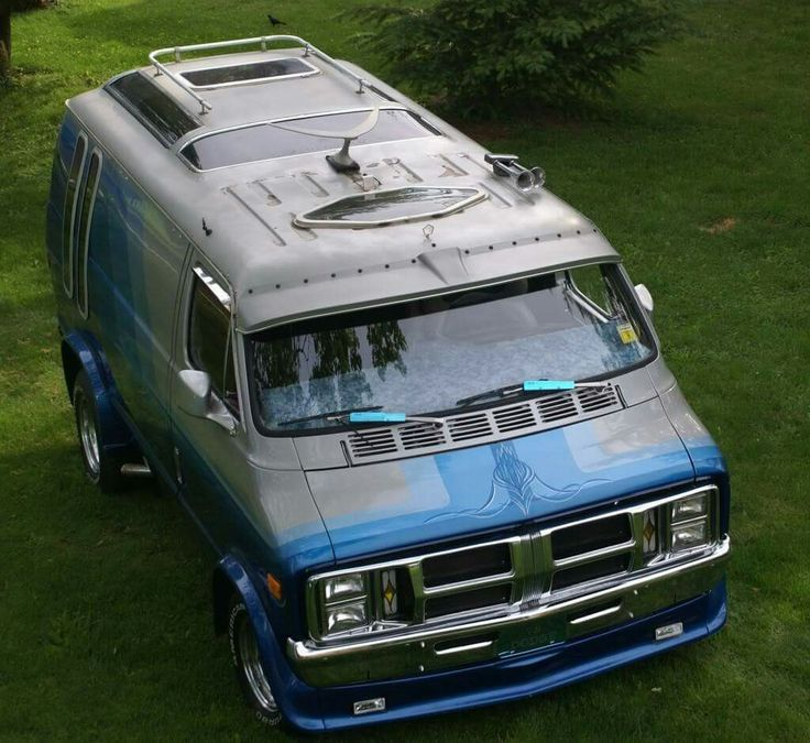 Custom Dodge Van