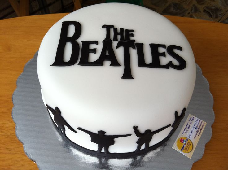 the beatles cake ideas