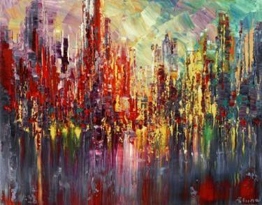 """Saatchi Art Artist Tatiana Iliina; Painting, """"I'IL GO EAST"""" #art"""