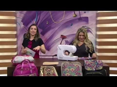 Mulher.com - 14/07/2016 – Mochila berta e bolso canguru – Adriana Dourado PT1…