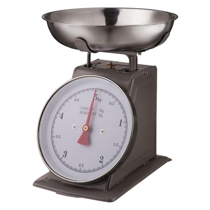 Köksvåg Grå/Metall 5kg