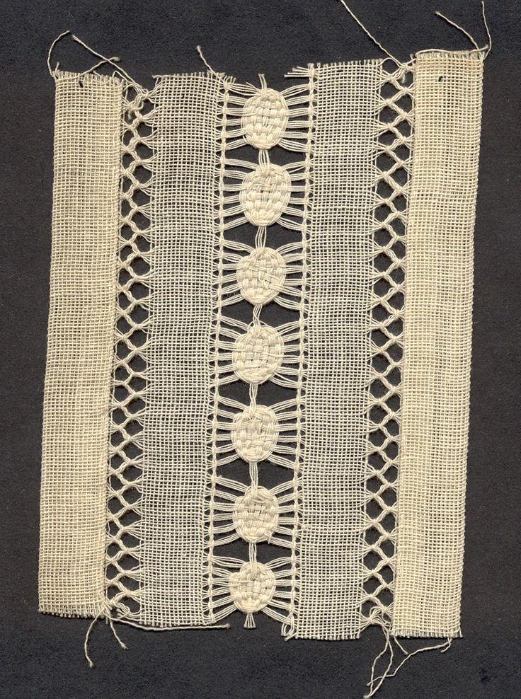 xxx ~ 'Quaker Lace sample. Kensington, Philadelphia, PA.'