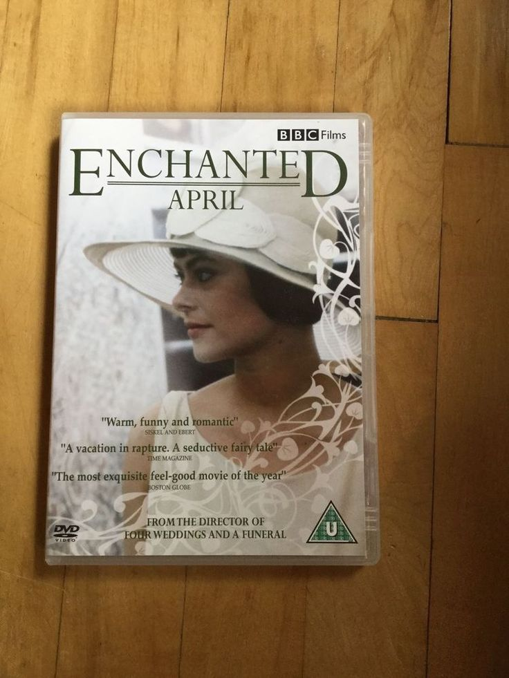 Enchanted April (DVD, 2009) Miranda Richardson Joan Plowright in DVDs, Films & TV, DVDs & Blu-rays | eBay!