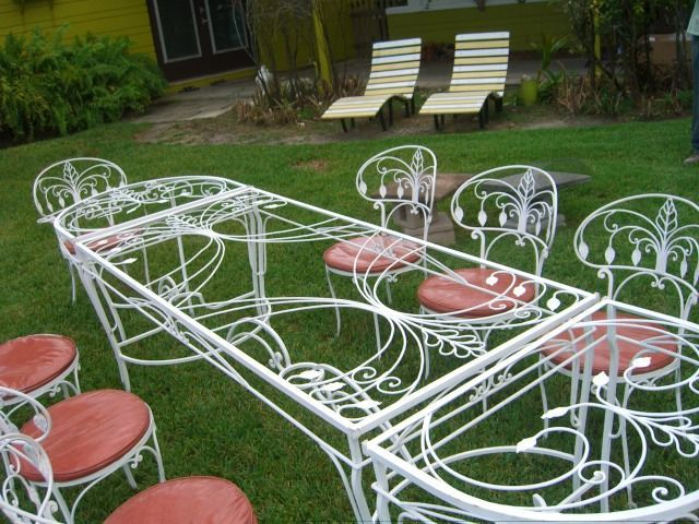 Perfect This is incredible I want it Wonderful Salterini Patio Furniture Picture Design