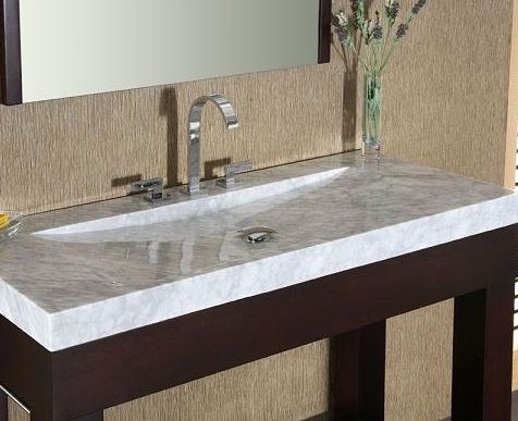 Bathroom Vanity Tops With Integrated Sink House Ideas Decorating