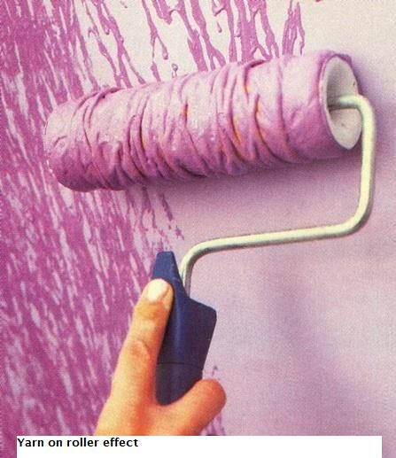 I think this is an awesome idea!! It adds texture to the wall and makes it look amazing.