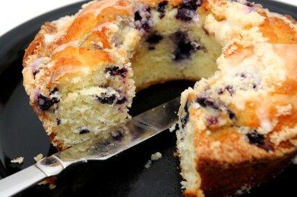 Gluten Free/Dairy Free Blueberry Coffee Cake!!!!!