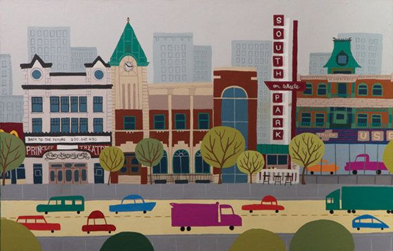 Edmonton Whyte Ave by JasonBlower on Etsy, $41.00