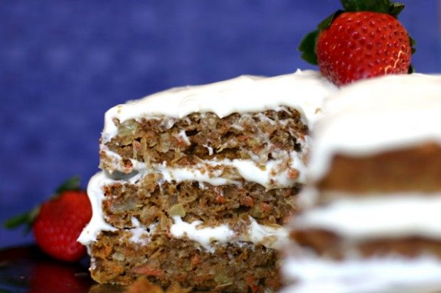 The Ultimate Carrot Cake: Clean Food, Food & Drinks, Cakes Crazy, Awesome Recipes, ૐƸ Ӝ Ʒツ ღCarrot Cakes, Eating Cakes, Carrots Cakes Yum, Favorite Recipes, Food Drinks