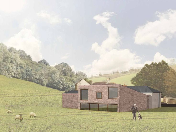 Repurposing of the country's first organic ice cream factory in Devon for a holiday home.