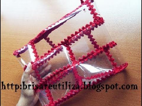 Recycle plastic bottles into bags