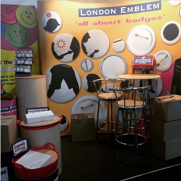 Setting up at The Education Show 2015!
