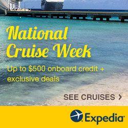 Expedia Cruise Sale!