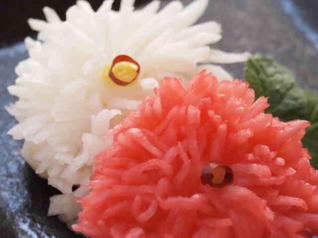 お節 簡単菊花かぶの画像