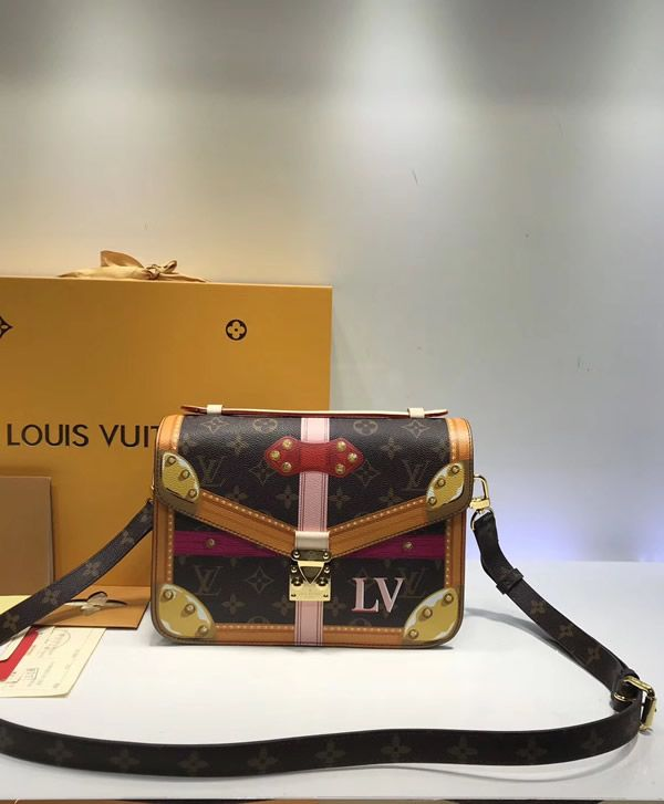 f96df77ee The Louis Vuitton Trompe L'oeil Screen Monogram Canvas Pochette Metis  M43628 is one of a kind, a collectible creation which should be on top of  your list if ...