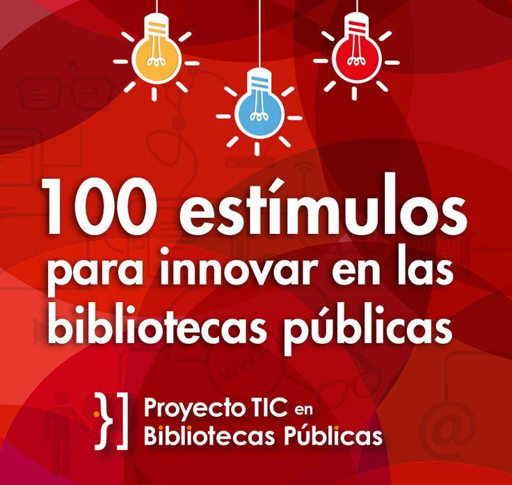 100 estímulos para innovar en las bibliotecas públicas de Colombia | Red Nacional de Bibliotecas Públicas