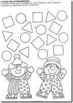 Resultado de imagen para dibujos con figuras geometricas