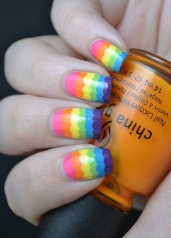 easy nail art (8)