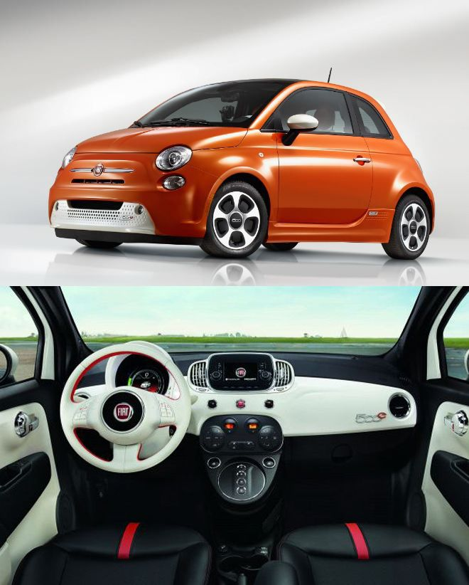 Fiat Electric Car 500e Fully Technology Review Techfiver