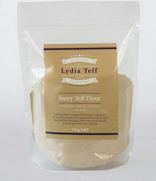 Did you know that teff contains vitamin C in it? This is quite unusual in most grains. But our teff out shines most other grains . Pictured is our popular Ivory teff flour and you can use it to make breads, pancakes, cakes, pizza bases and other baked goods that use flour. It's Gluten free too.  #Lydiateff #teff #gfree #ivoryteffflour #vitaminc #vegan #vegetarian #quinoa