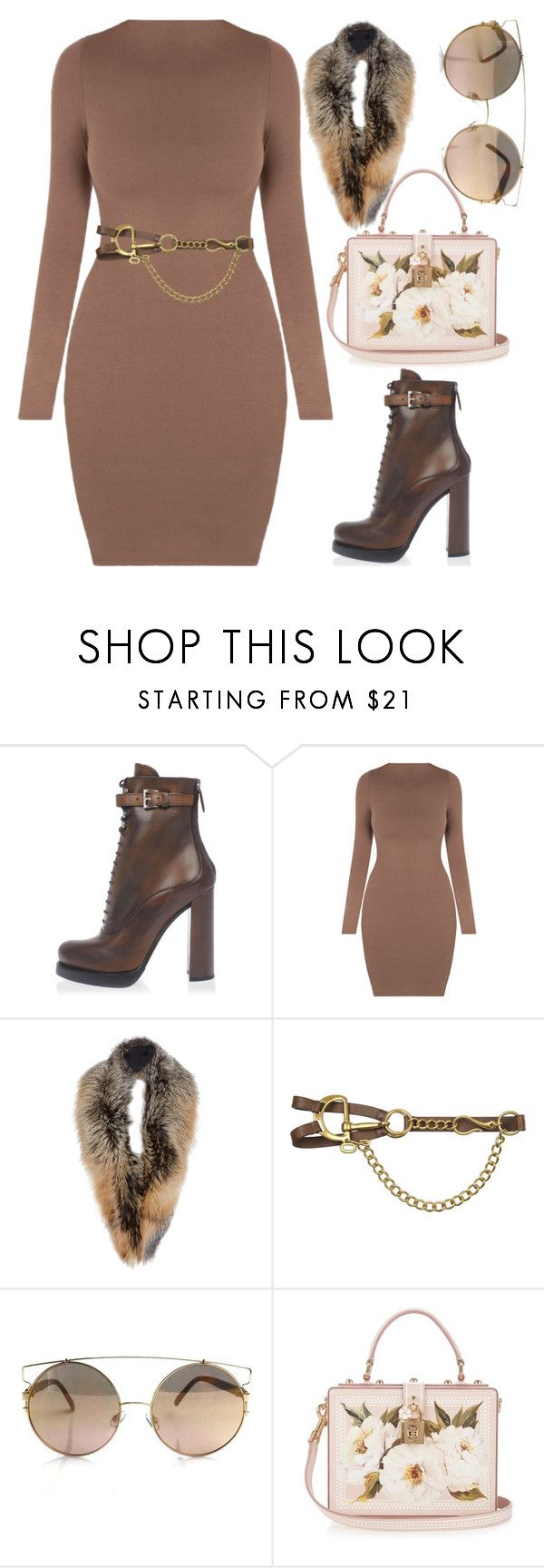 """""""Alas"""" by kimeechanga on Polyvore featuring Prada, Sally Lapointe, Ralph Lauren Collection and Dolce&Gabbana"""