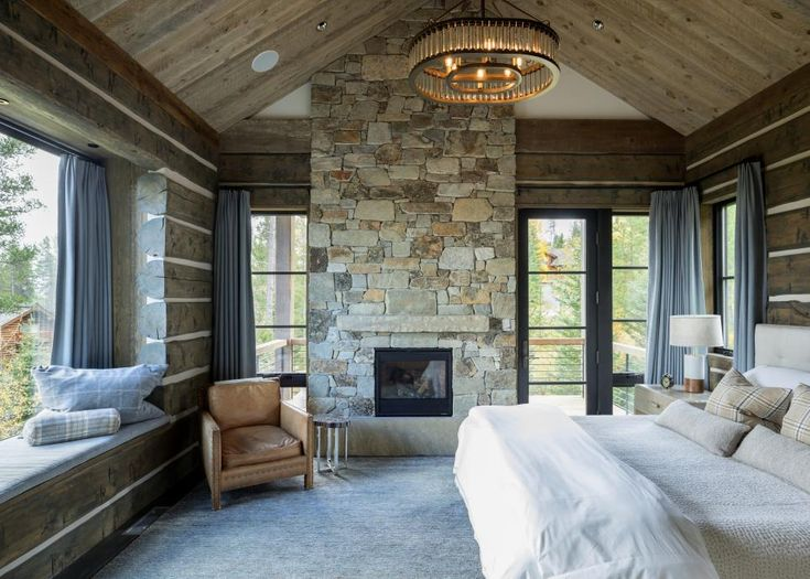 Luxury Log Cabin in Jackson Hole, Wyoming