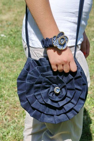 Сумка из джинсов и ткани своими руками: на фото рюкзак, сумка через плечо