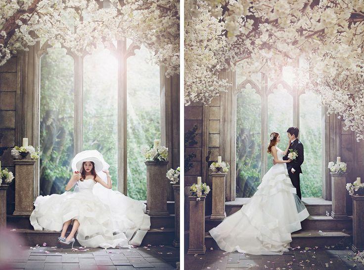 Korean Studio Pre-Wedding Photography: 2016 Romantic Vintage Collection  by Bong Studio on OneThreeOneFour 26